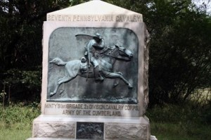 Seventh_PA_Cavalry_at Chickamauga